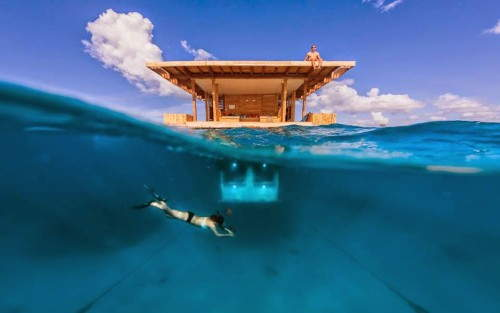 Vacationing Underwater: The Manta Resort in Pemba