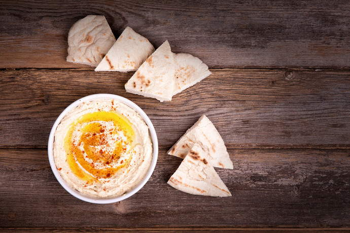 One Step Easy Hummus Recipe