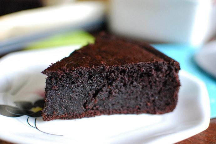 chocolate-quinoa -cake