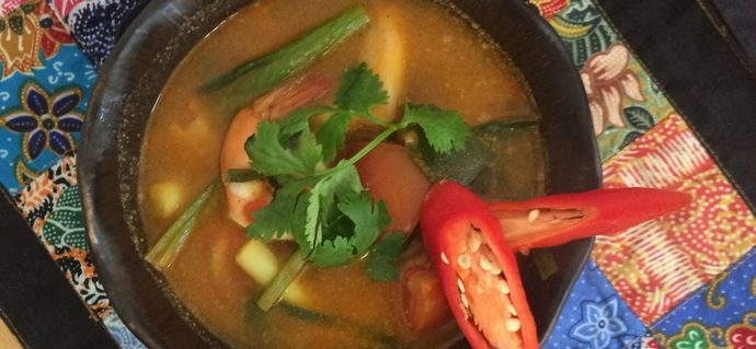 Easy & Quick Tom Yum Soup