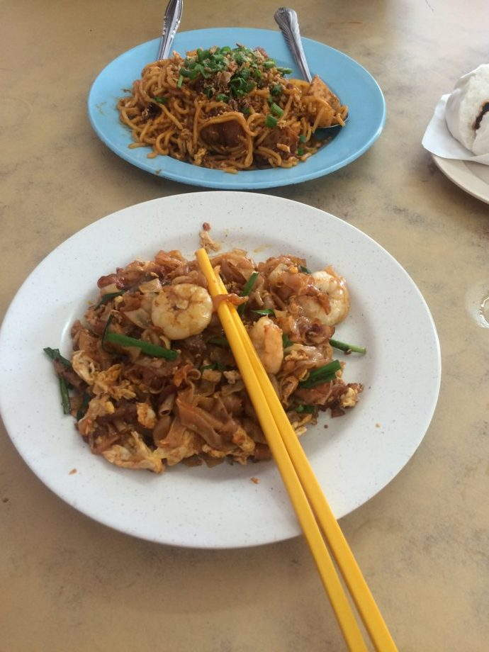 Mee Goreng and Char Kway Teow from Ho Ping Cafe
