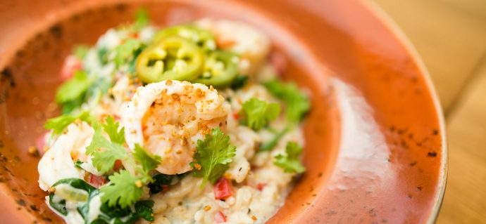 Shrimp and Coconut Risotto