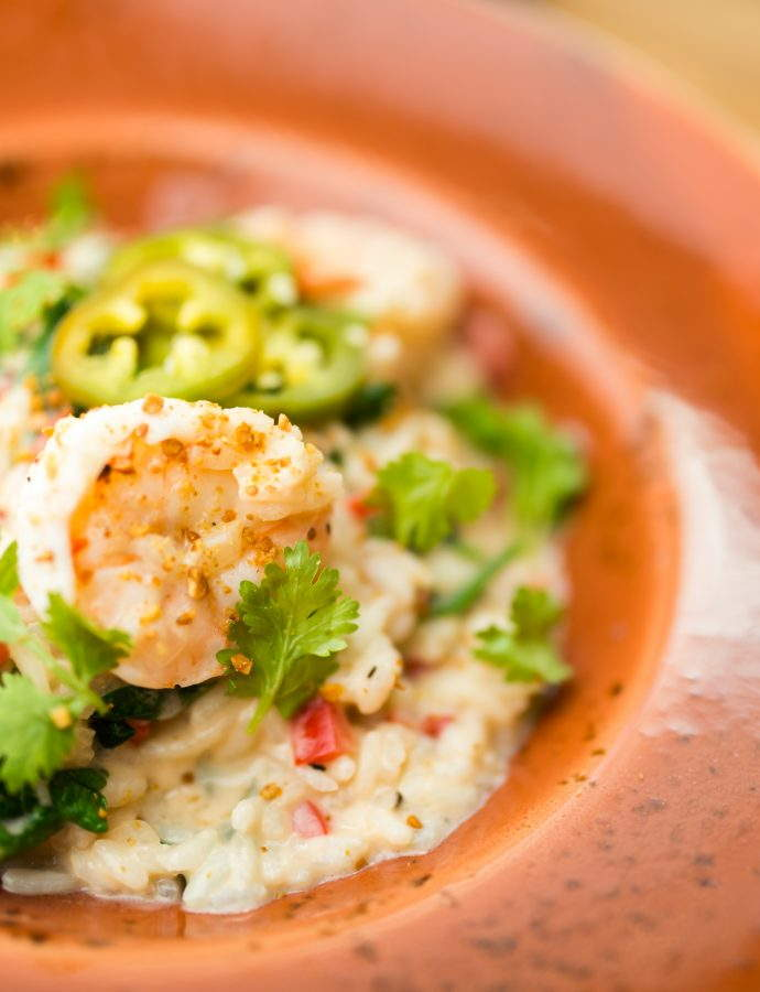 Shrimp and Coconut Risotto