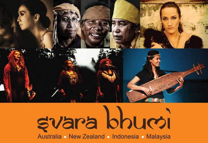 Svara Bhumi - a musical tribute to the indigenous people of the region.