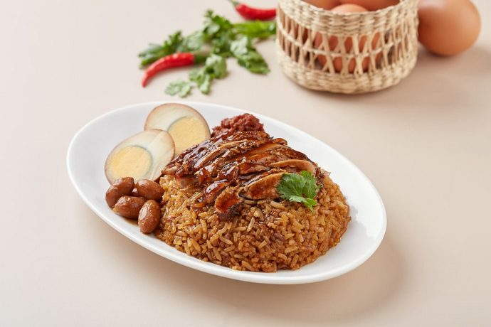 Braised Duck Rice at $4.90