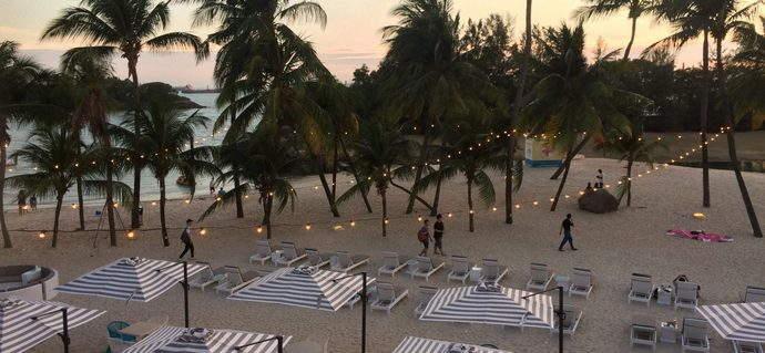 Feeling the Beach Vibe at Ola Beach Club Sentosa