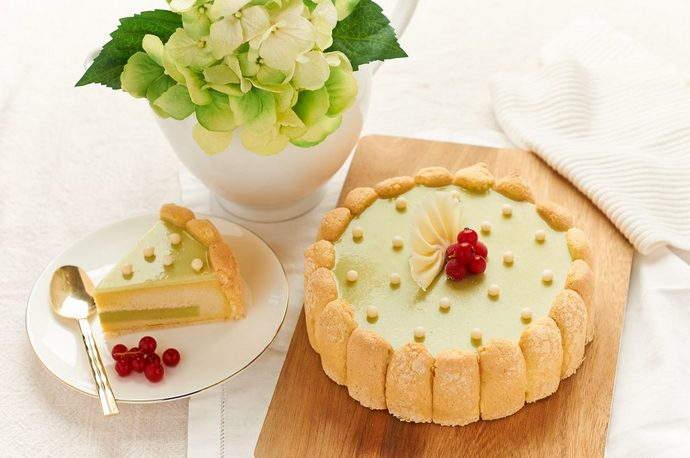D24 Durian Matcha Cake