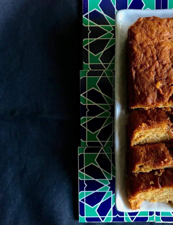 Easy Carrot Loaf Cake