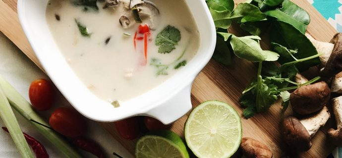 Asian Cravings: Tom Kha Gai