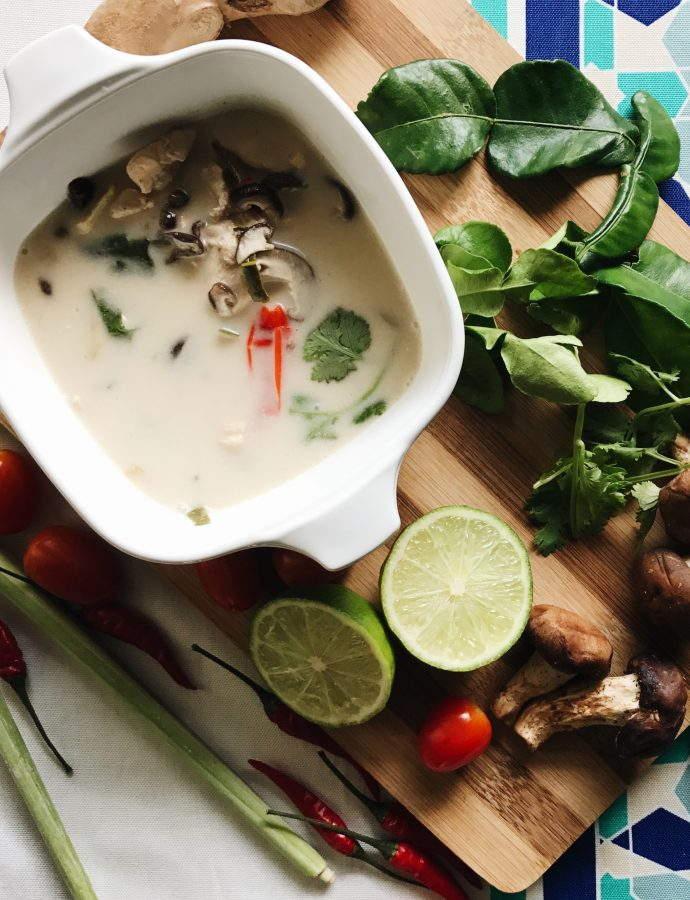 Asian Cravings: Tom Kha Gai