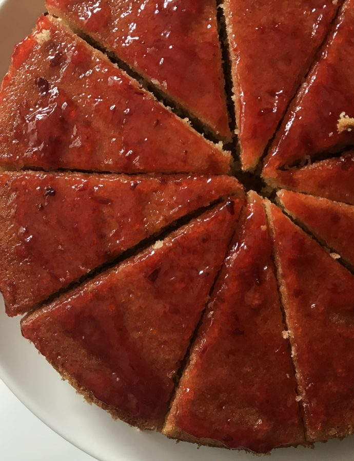 Vanilla Cake with Ground Almond