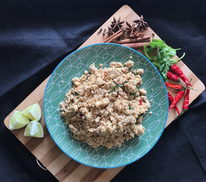 Vegetarian Larb Recipe: A dish from Laos