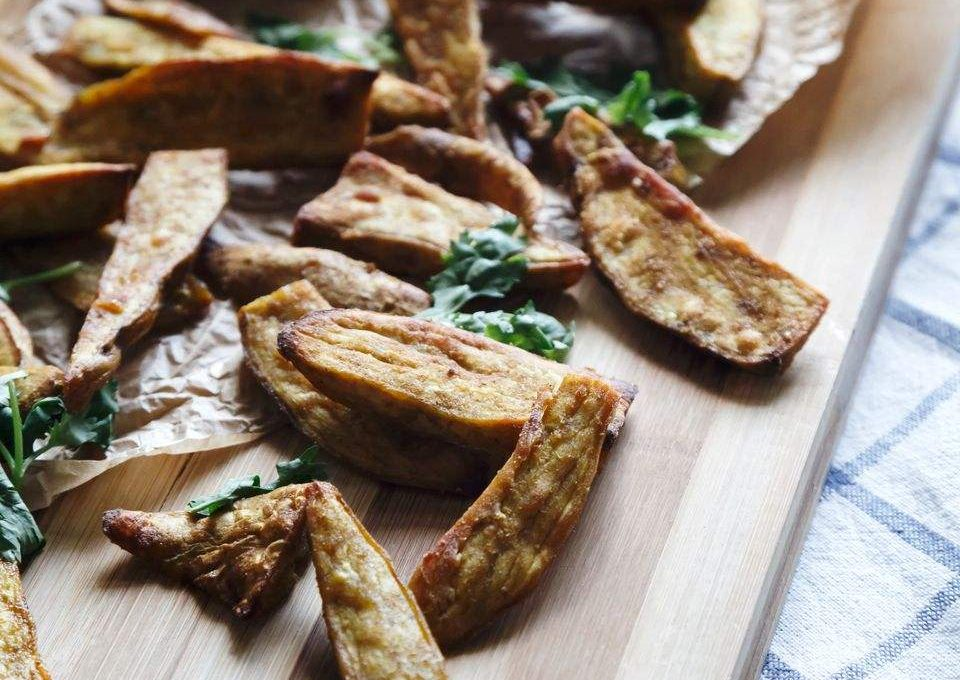 Indian Sweet Potato Fries Recipe