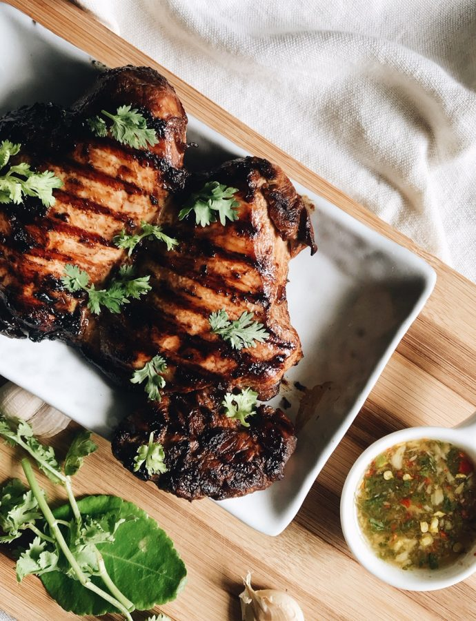 Easy Thai Grilled Chicken