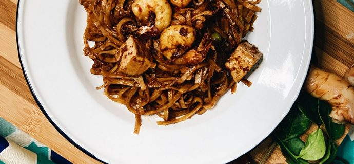 Spicy Nyonya Noodles Recipe
