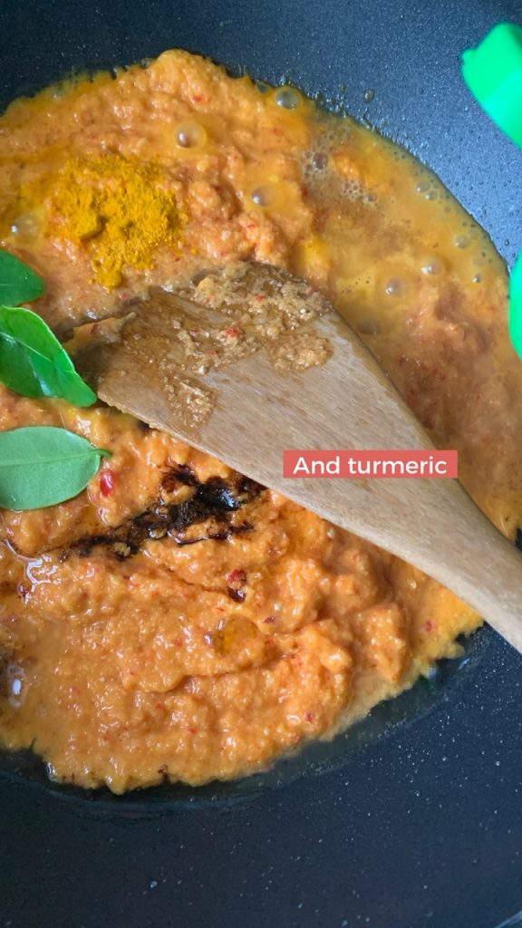 baked fish nyonya spice paste