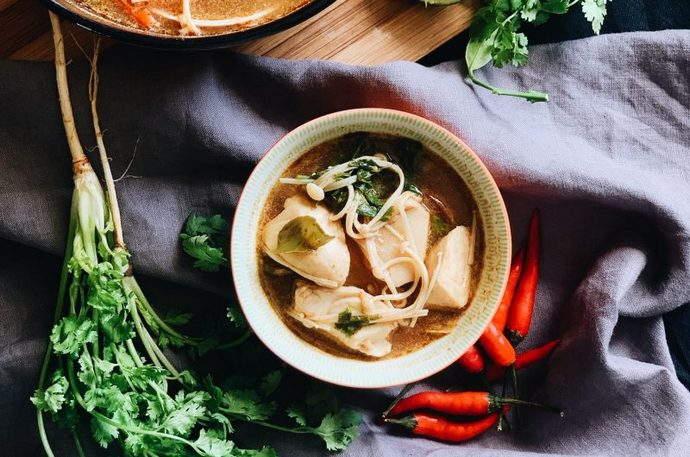 Thai Tom Yum Soup Recipe