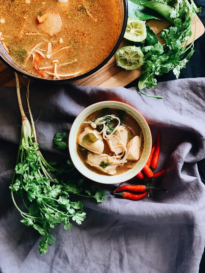Thai Tom Yum Recipe