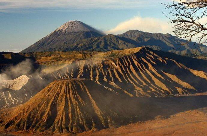 Mount Bromo in Surabaya, Indonesia