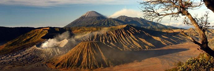 Mount Bromo in Surabaya, Indonesia