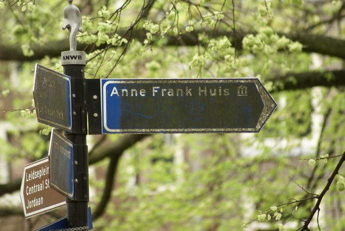 Anne Frank's House. Image by Julius Cruickshank via Creative Commons