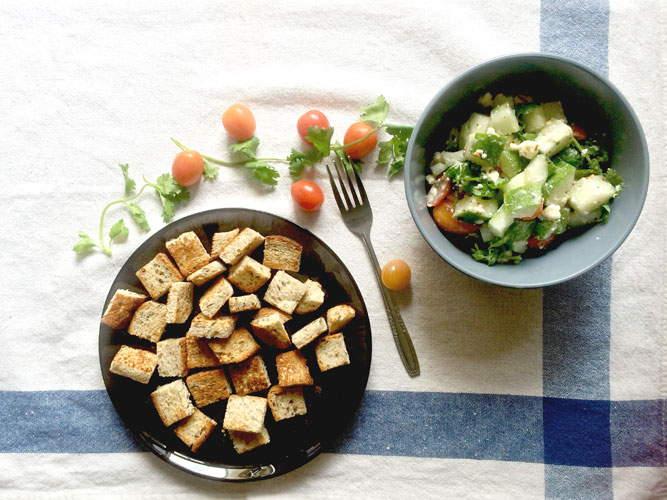 Feta and Cucumber Salad Recipe