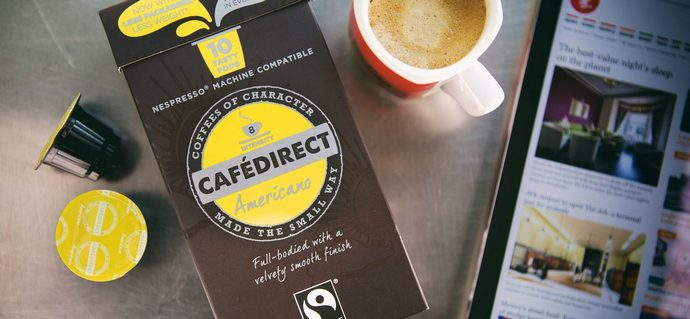 Premium Cafedirect Coffee Capsules are here!