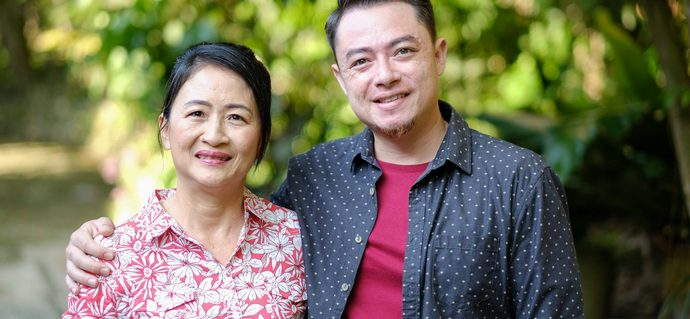 Chatting with Sherson and Ann Lian, from Family Kitchen