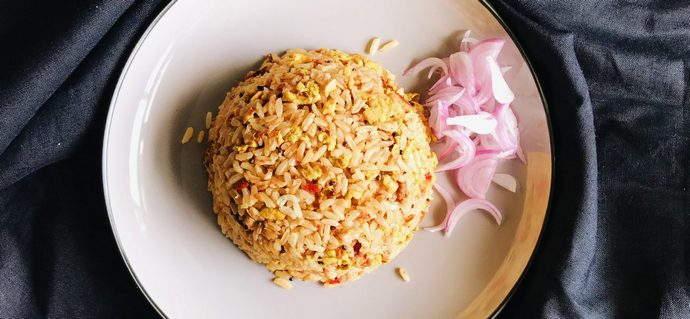 3 Ingredient Thai Fried Rice