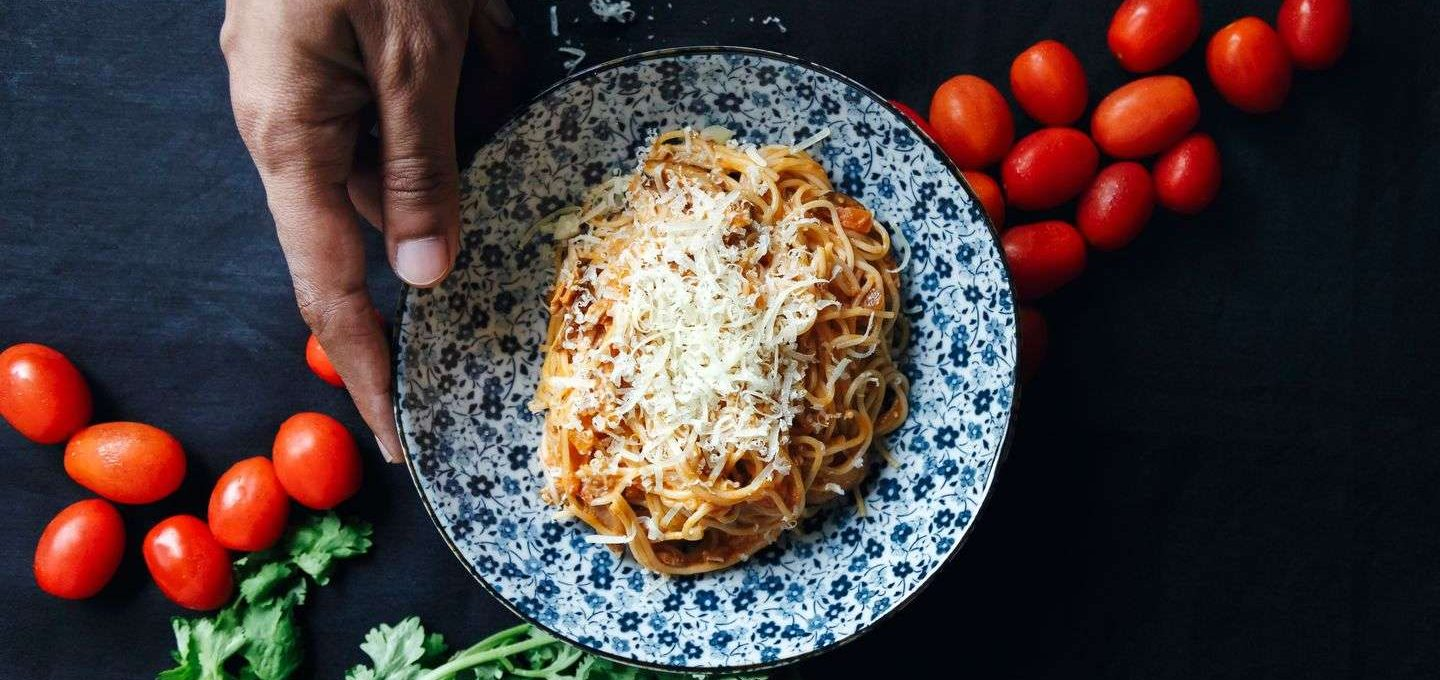 Tomato and Coconut Cream Pasta Recipe