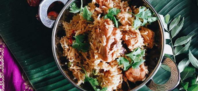Simple Chicken Briyani