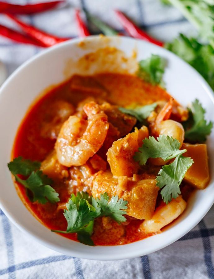 Easy Thai Red Prawn Curry
