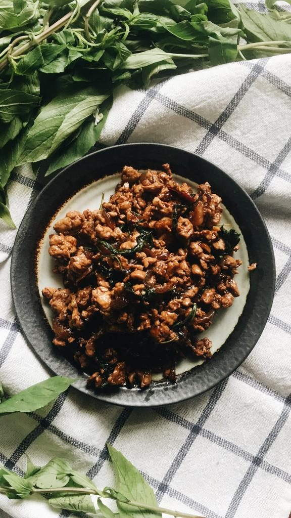 basil minced chicken recipe cravings