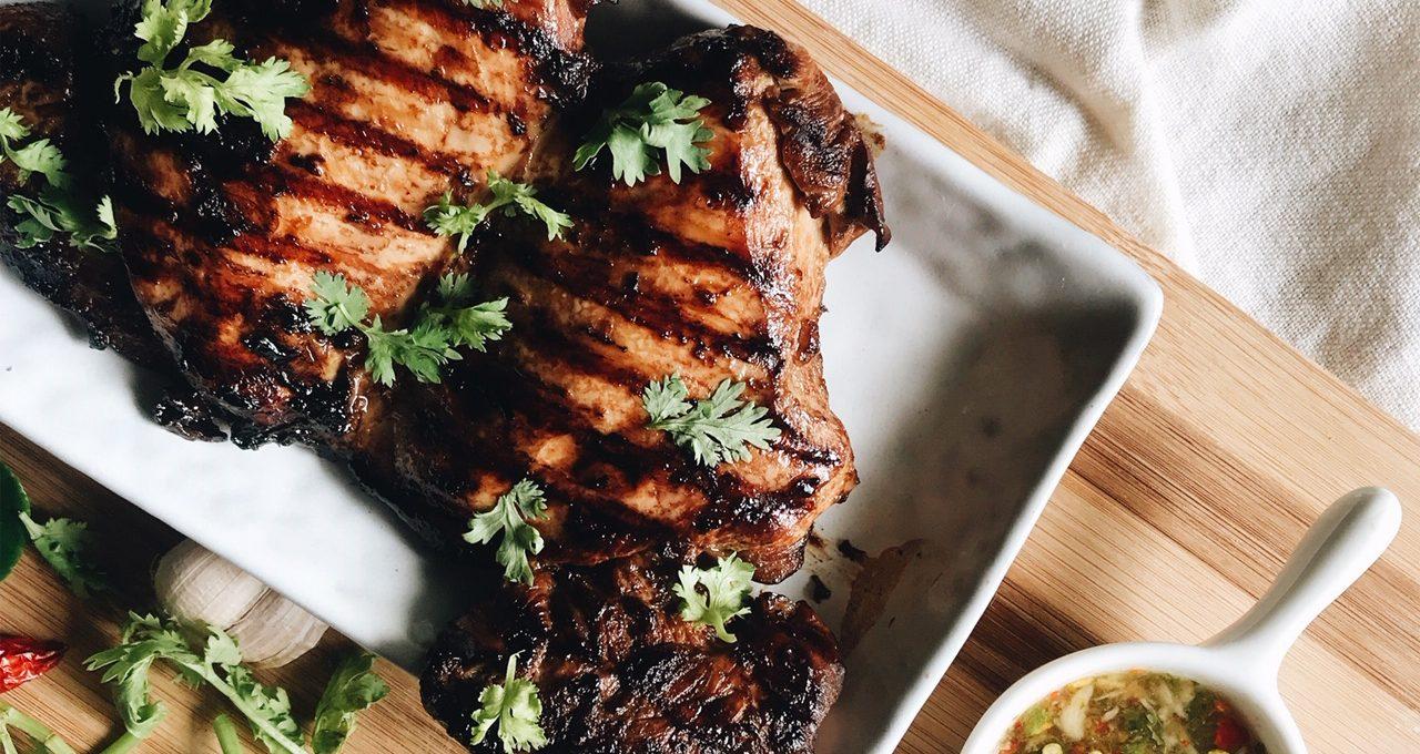 Easy Thai Grilled Chicken