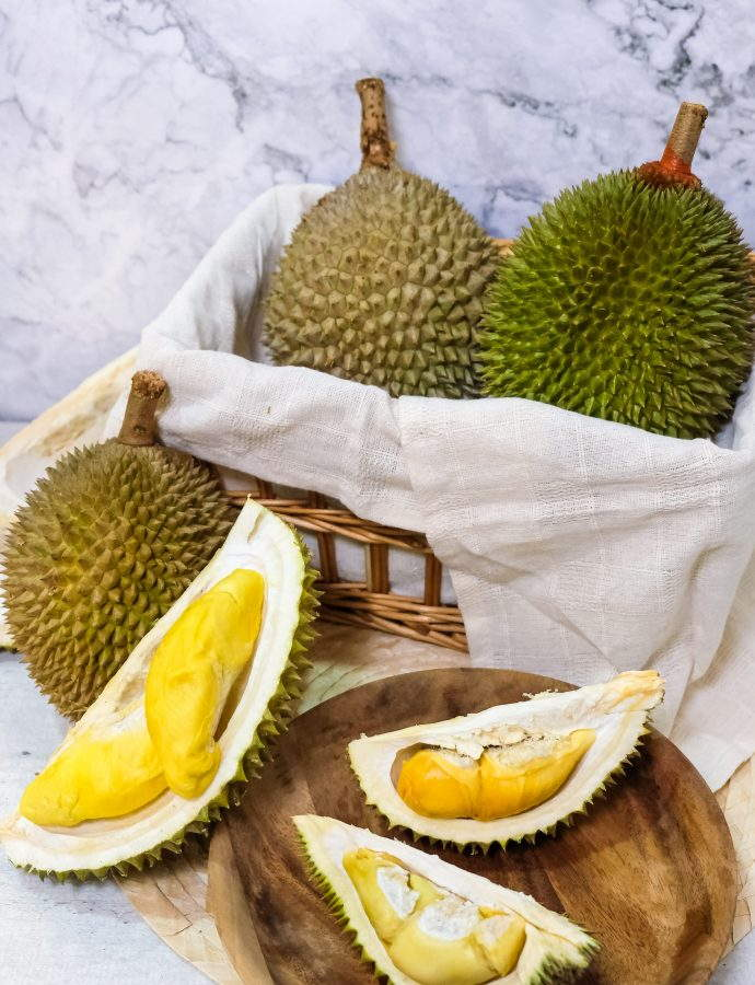 Durians from 99 Old Trees Singapore