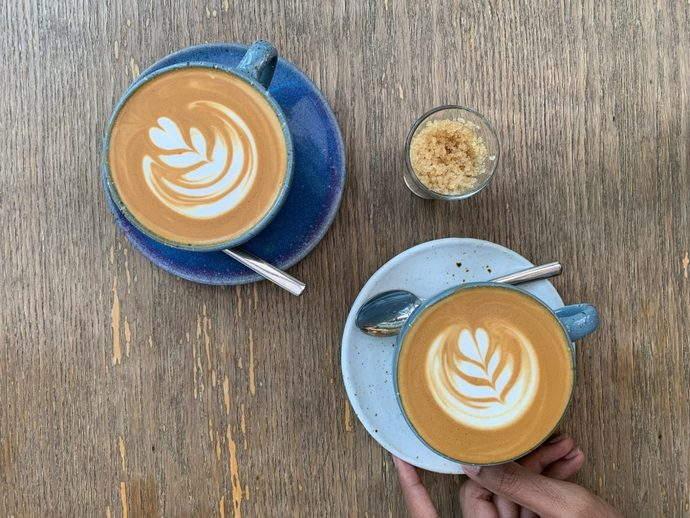 rocket coffee bar latte