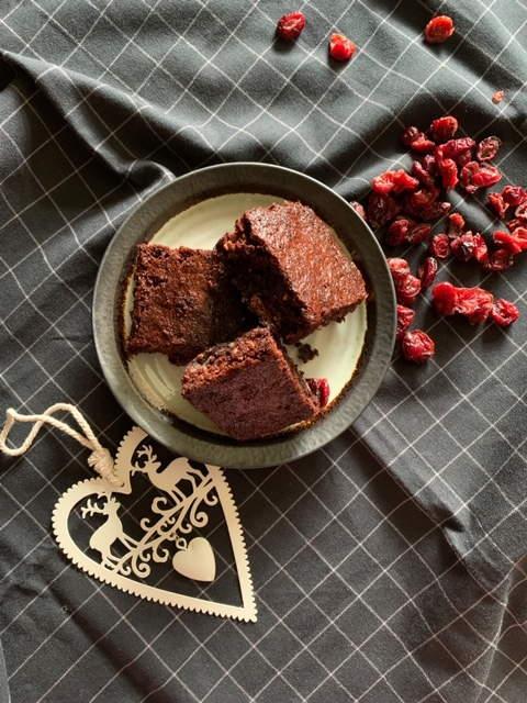 Chocolate Brownies for Christmas