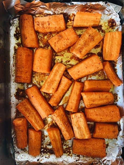 Spiced Honey Carrots
