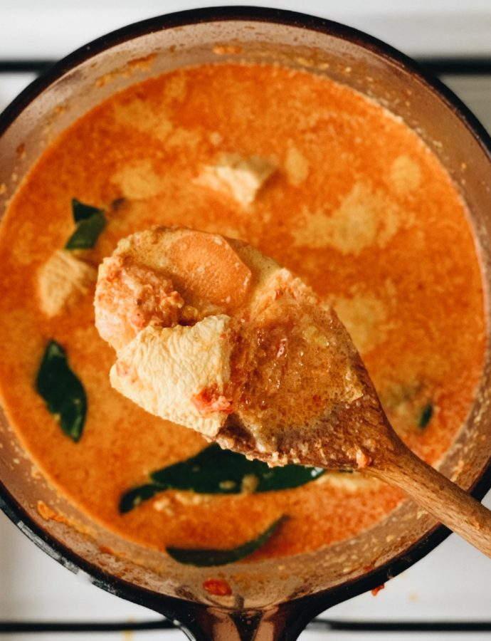 Peranakan Chicken Curry