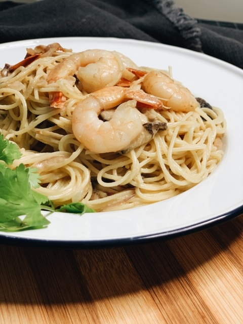 green curry pasta recipe