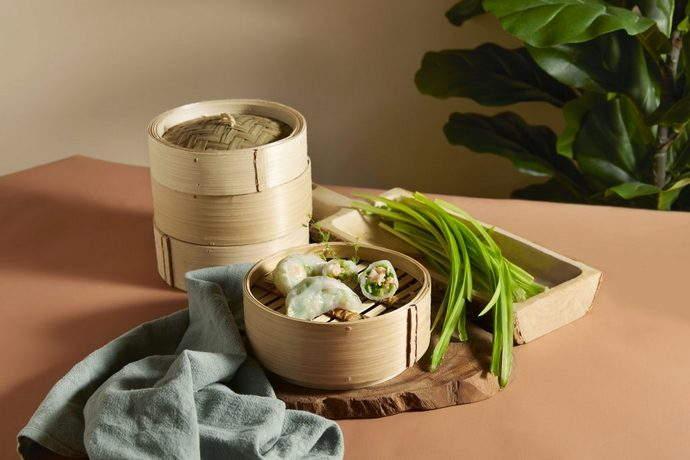 Crystal Jade Hong Kong Kitchen (GW) - Steamed StemChivesDumpling
