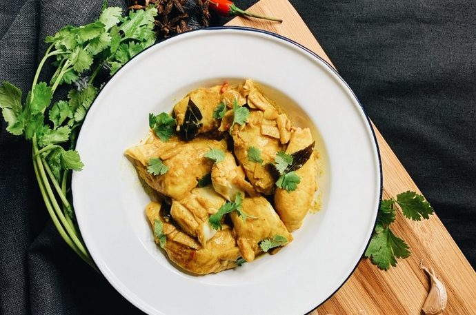 Fish in Curry Leaf Broth