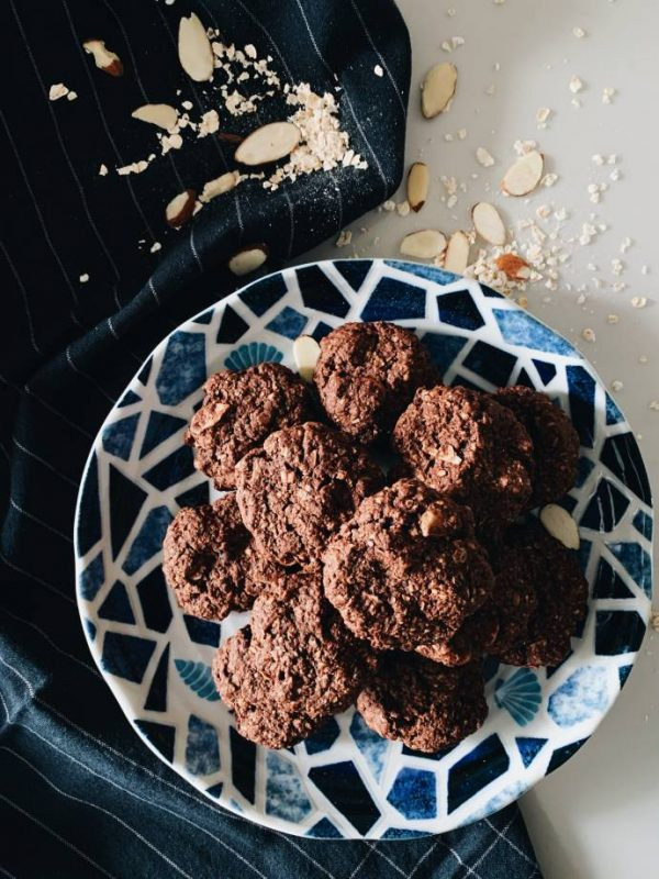 Chocolate Oatmeal Cookies 3