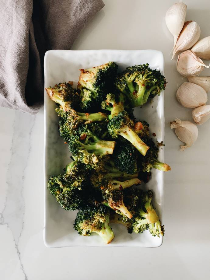 Thai Shrimp on Broccoli