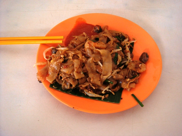 char kway teow noodles