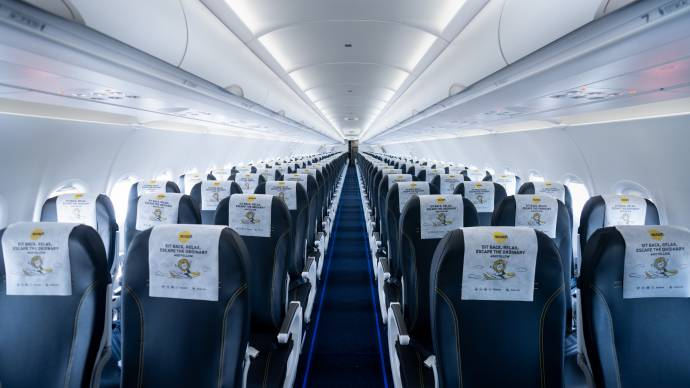 Cabin Overview scoot goes to bangkok