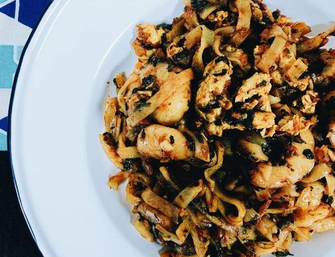 XO Prawn Noodles Recipe